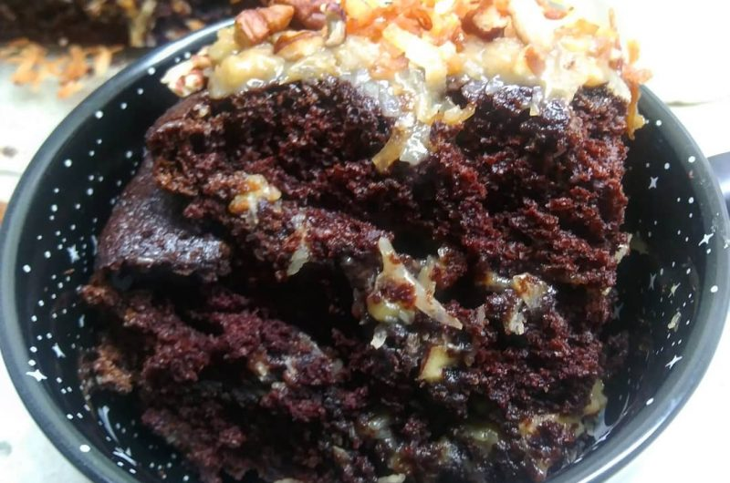 German Chocolate Cake from Scratch