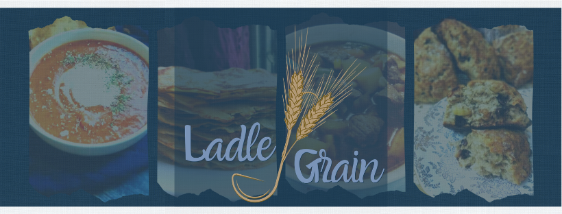ladle and grain banner