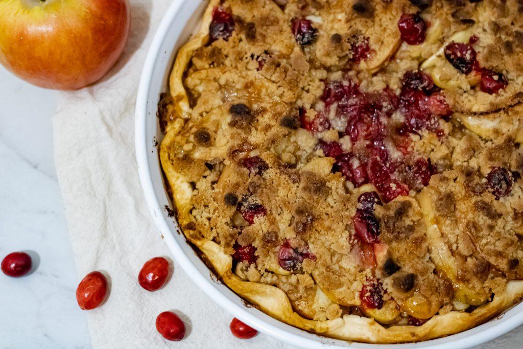 baked fruit tart