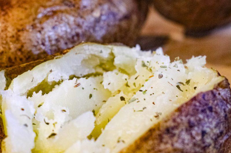 Air-Fryer Baked Potato